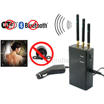 Spy 2.4 Mhz Wireless Camera Jammer In Bhiwani